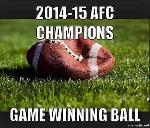 2014-2015 NFL AFC Championship game ball between the Colts and Patriots has been located.