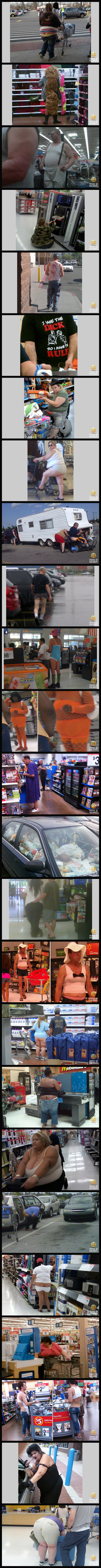 25 Of The Worst Or Possibly The Best People Of Walmart Pictures.