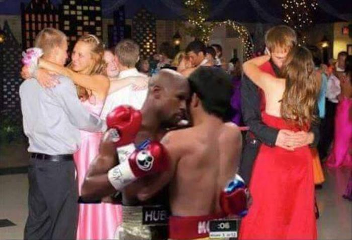 A rematch between Manny Pacquiao and Floyd Mayweather would be super cute.