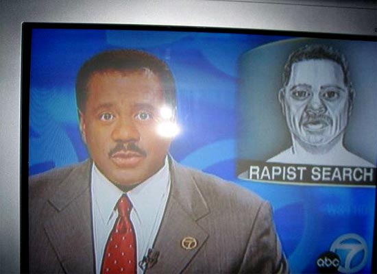 A Striking Resemblance Between These Two Guys Unfortunately For The Newscaster