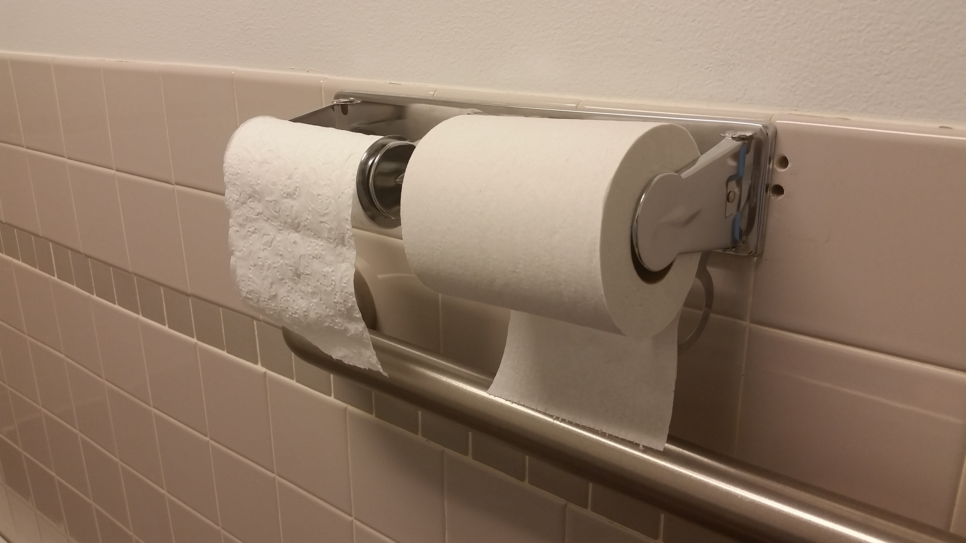 It has been determined the people prefer over vs under when it comes to toilet paper.