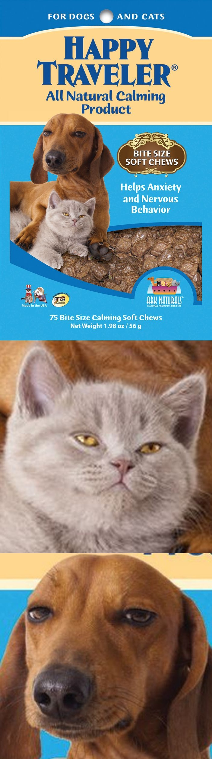 All natural calming product for dogs and cats looks like it works really, really good.