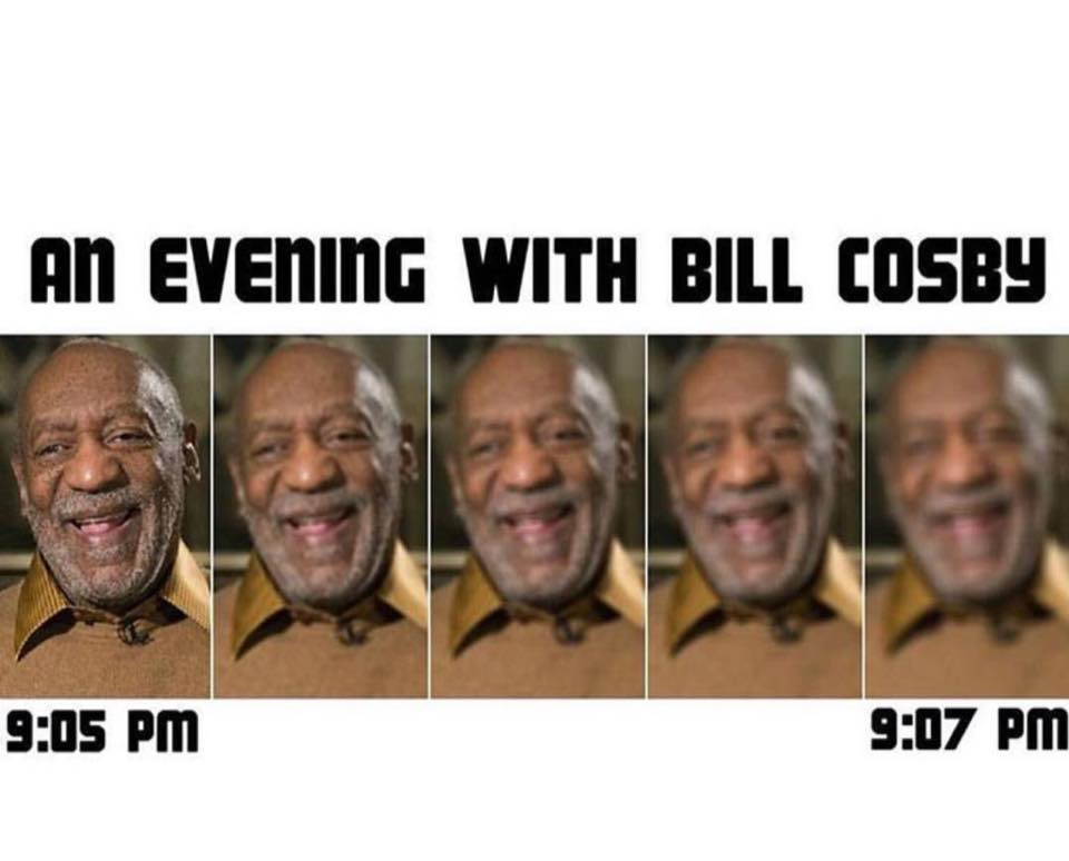 An evening with Bill Cosby.