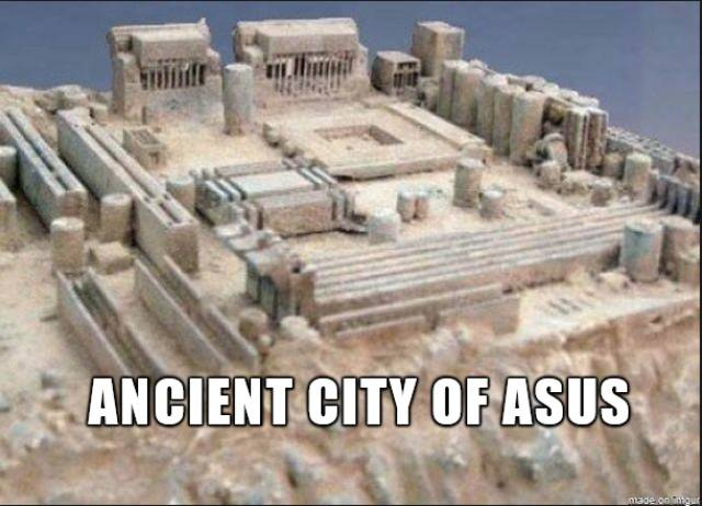 Ancient city of Asus.