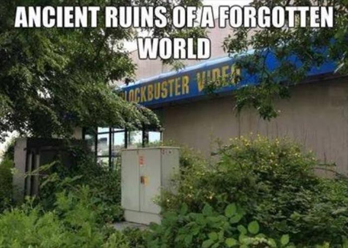 Ancient ruins of a forgotten world.