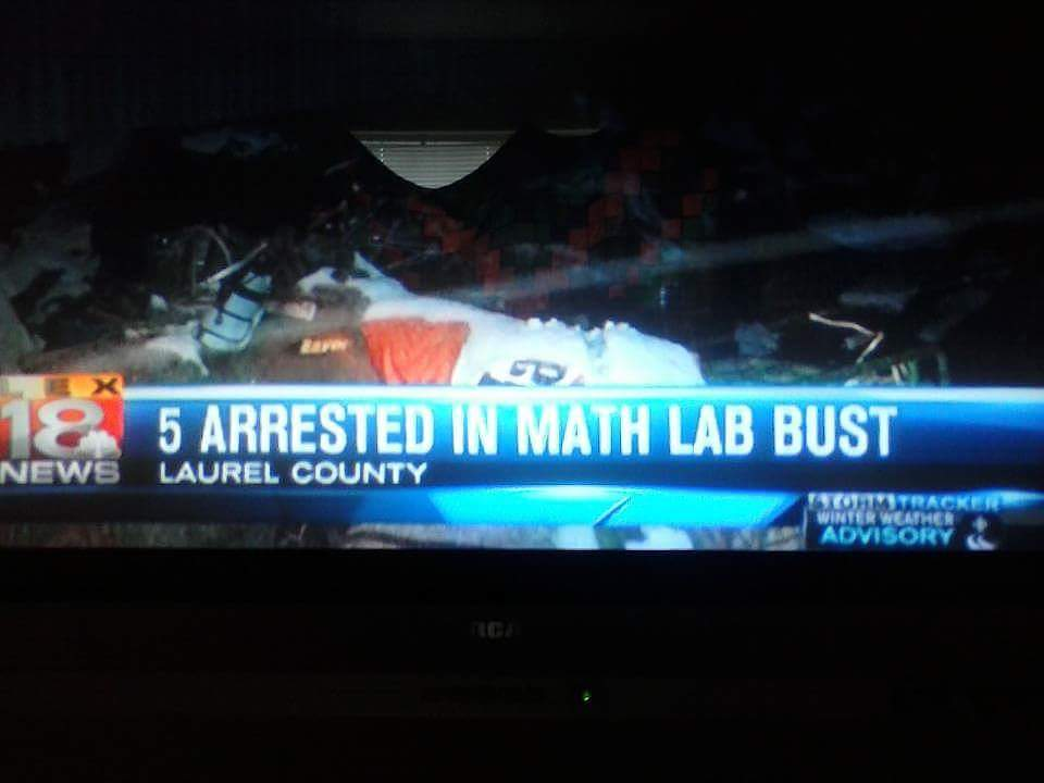 Apparently math is illegal now too.