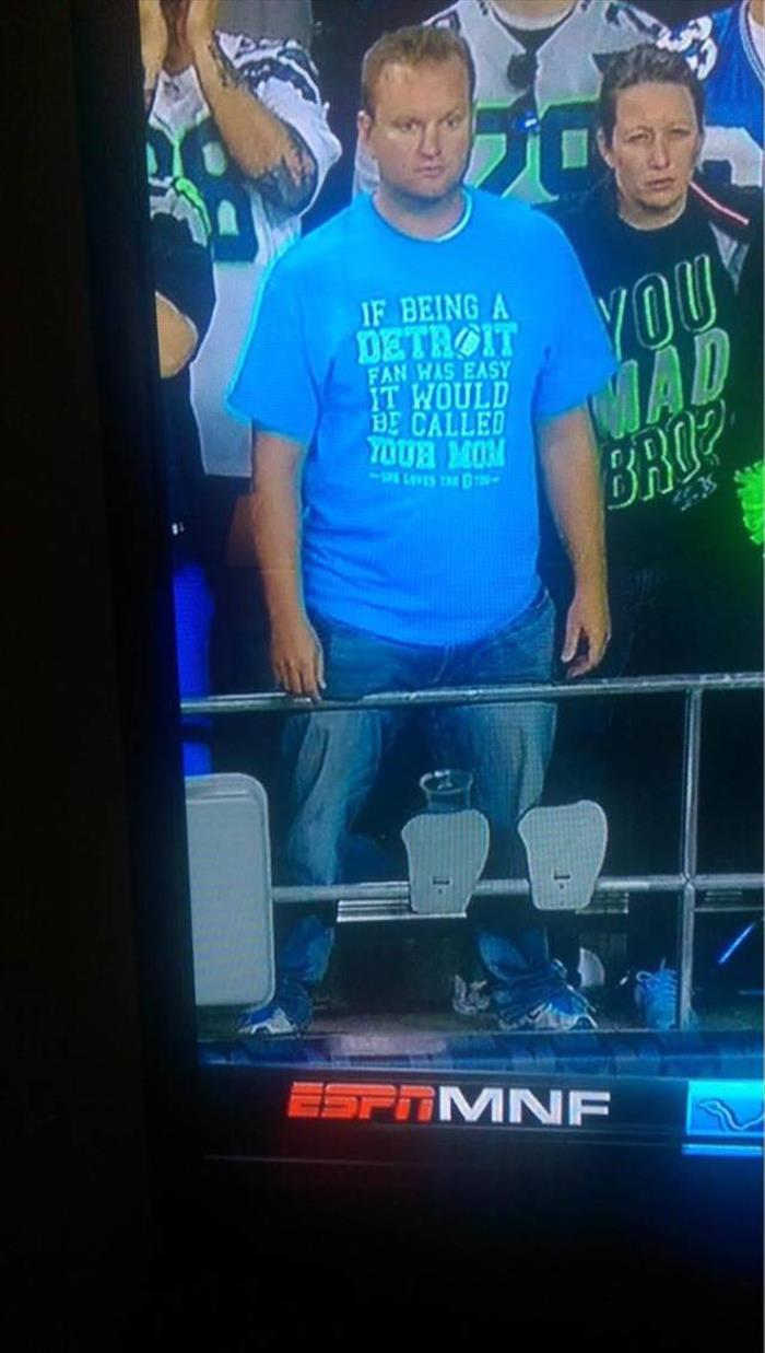 Being a Detroit Lions fan is not easy.