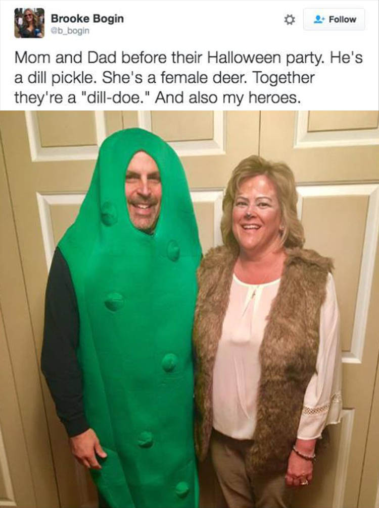 Best husband and wife Halloween costumes ever,