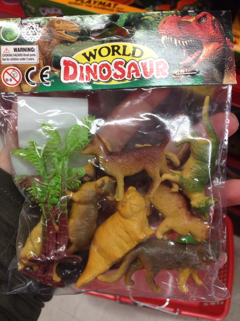 Bought this pack of toy dinosaurs only to find out they are cats. I feel so ripped off.