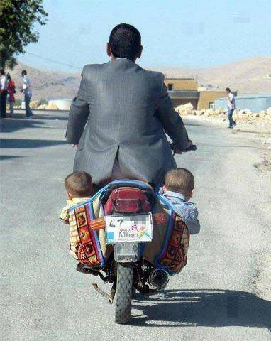 Child safety seat laws are not quite as strict in this country
