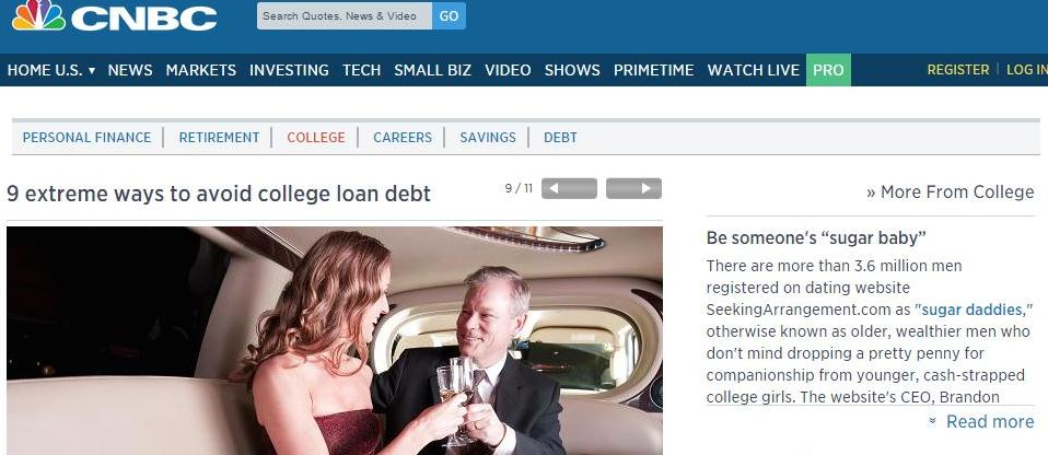 CNBC gives tips on how to avoid college student loan debt.