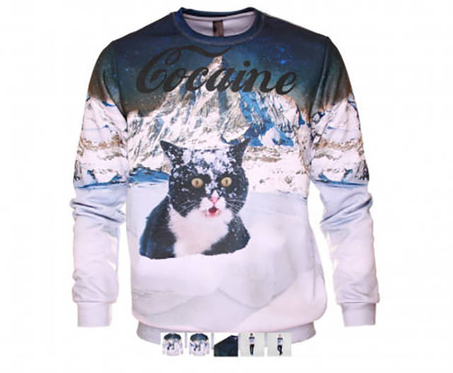 Cocaine cat is a real trendsetter.