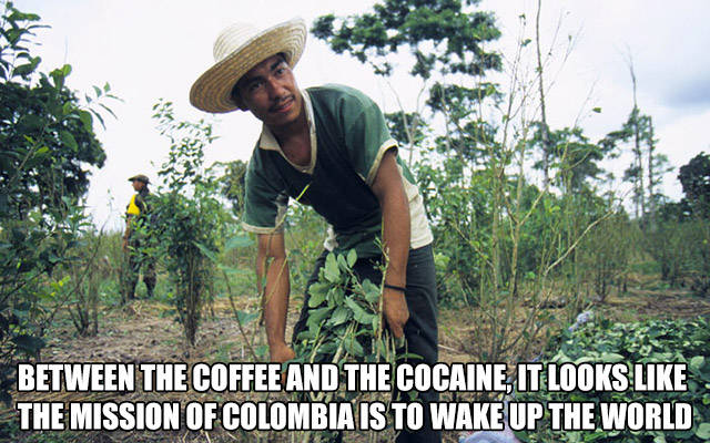 The mission of Colombia is to wake up the world.