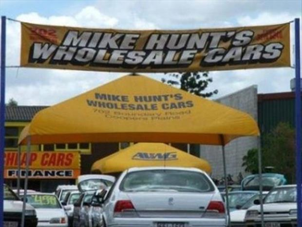Mike hunt wholesale cars