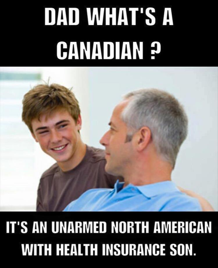 Dad, what's a Canadian?