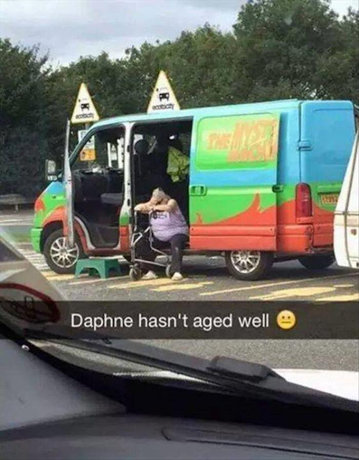 Daphne from Scooby-Doo hasn't aged well.