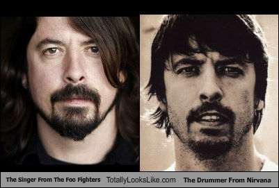 Dave Grohl totally looks like Dave Grohl?