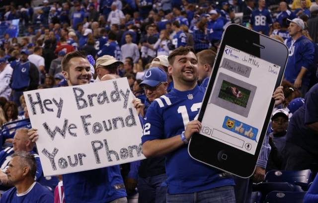Deflategate Update: Tom Brady's cell phone has been found.