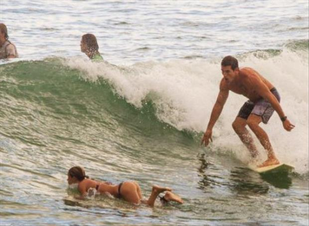 Distractions While Surfing Can Lead To Serious Wipeouts