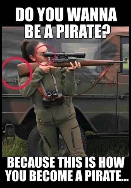 Do you wanna be a pirate?