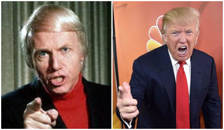 Donald Trump is this generation's version of Wally George.