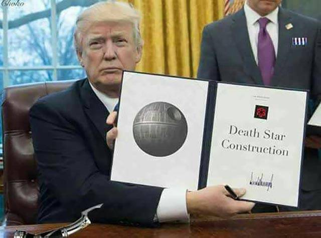Donald Trump just signed another executive order.