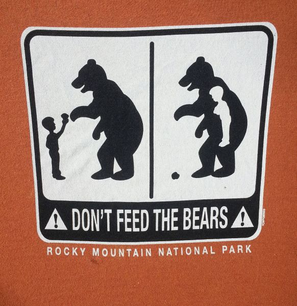 donít feed the bears essay Find great deals on ebay for don't feed the bears shop with confidence.