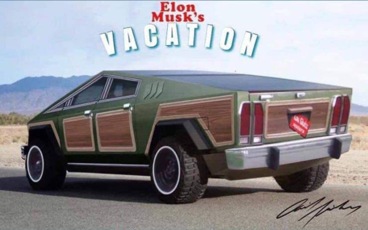Elon Musk's National Lampoon's Vacation.