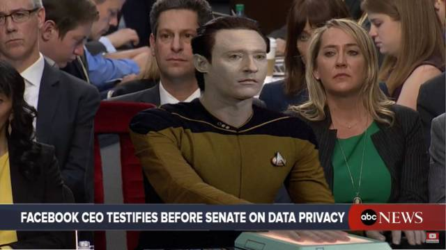 Facebook CEO Mark Zuckerberg testifies before senate on data privacy.