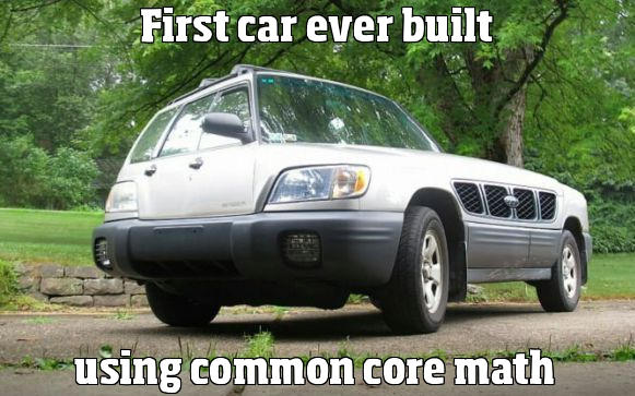 first car ever built using common core math realfunny. Black Bedroom Furniture Sets. Home Design Ideas