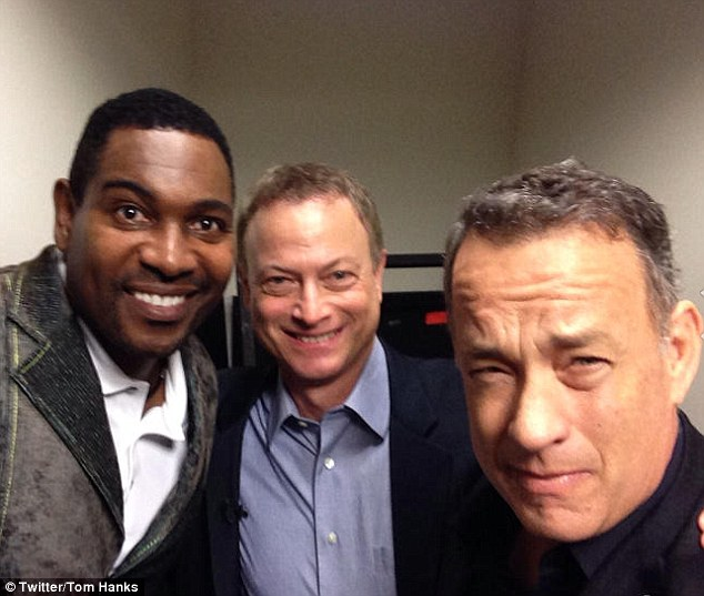 Forrest Gump reunited with Lieutenant Dan and Bubba after 21 years.