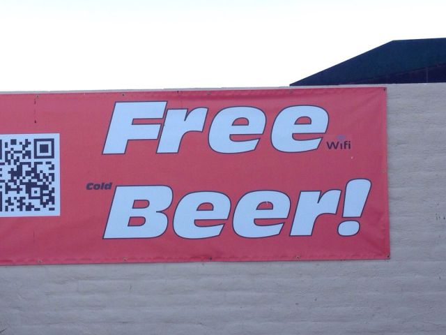 Free Beer? Not really if you read the fine print.