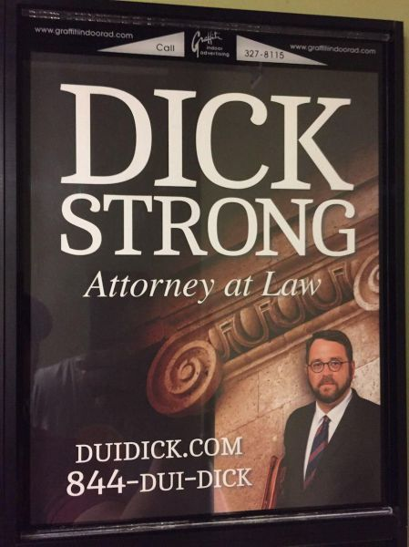 Get a DUI? Call Dick Strong.