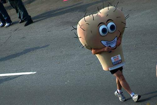 Great costume if you are feeling a little nutty