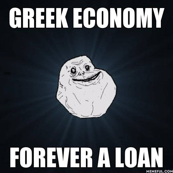 Greek Economy = Forever A Loan