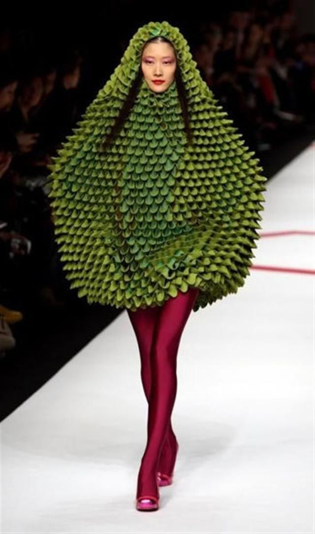 High fashion? Maybe if you want to look like a blowfish