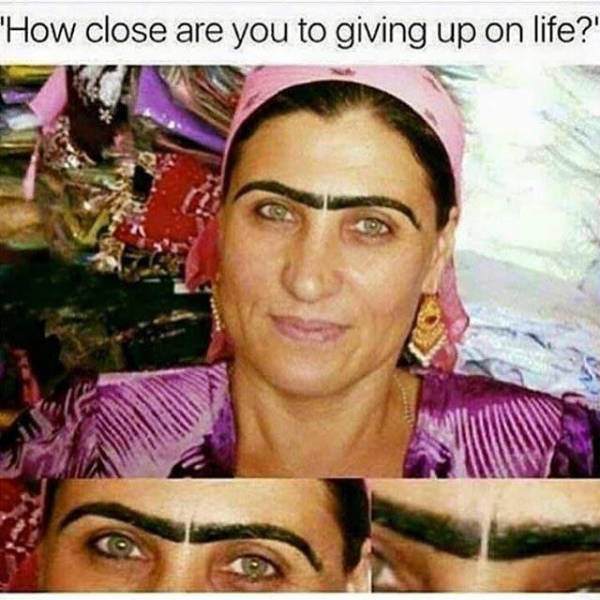 How close are you to giving up on life?