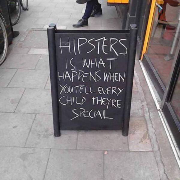 How hipsters are created.