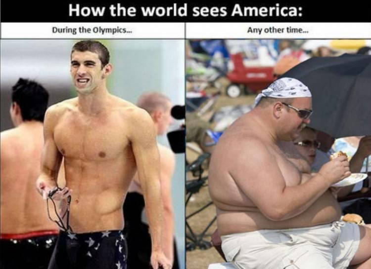 How the world sees America.