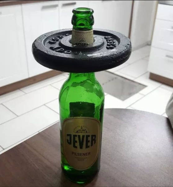 How to get ripped while drinking beer.