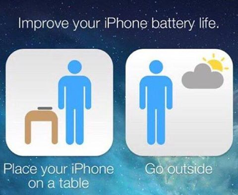 How to improve your iPhone's battery life.