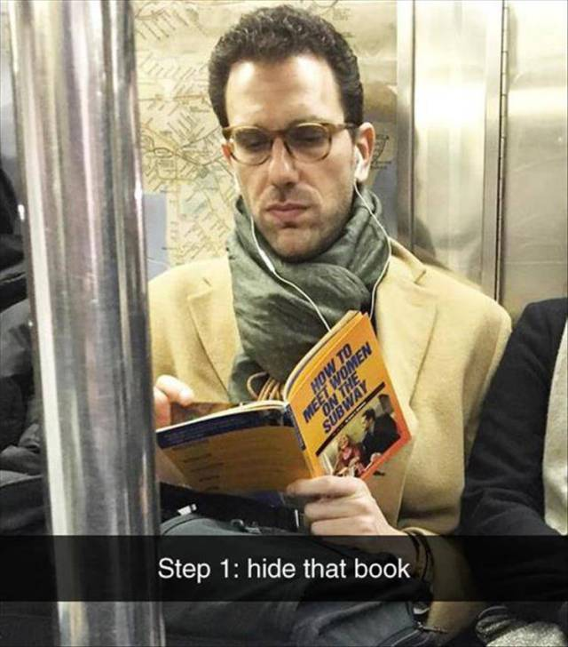 How to meet women on the subway.