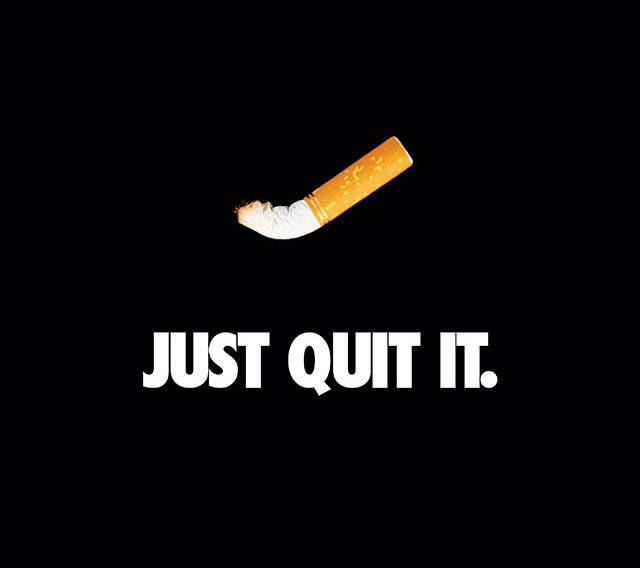 How to stop smoking.....just quit it.
