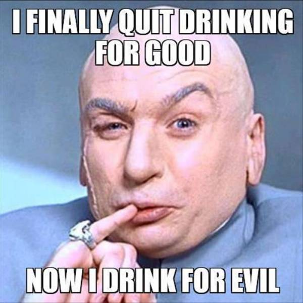 I finally quit drinking for good...