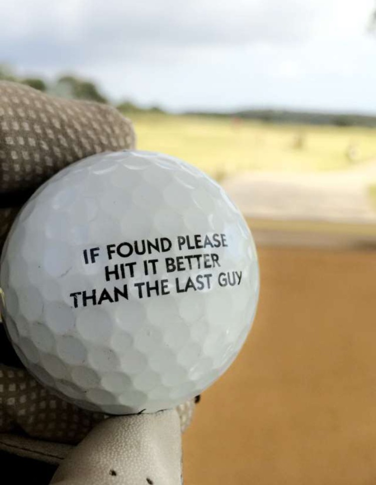 If found please hit it better than the last guy.
