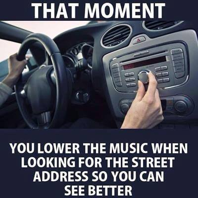 If you've ever lowered the music volume in your car to find an address more easily you're not alone.