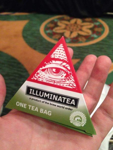 Illuminatea brought to you by the brew world order.