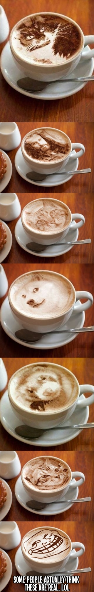 Incredible latte art will amaze you!