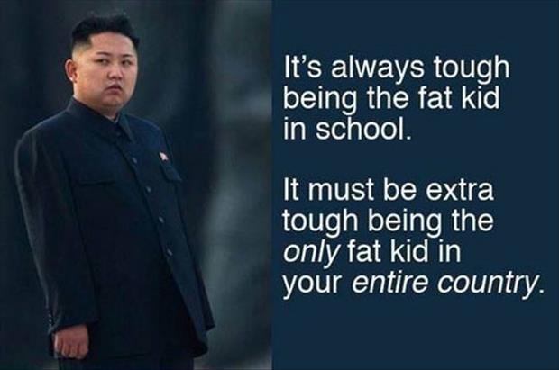 It Is Tough Being The Fat Kid In School But It Is Extra Tough Being The Only Fat Kid In The Country.