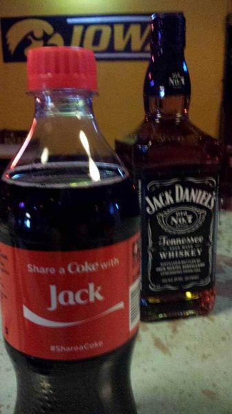 Jack and Coke go together like Dick and Jane